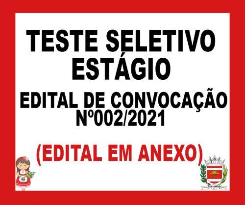 Edital de Convocacao 02/2021