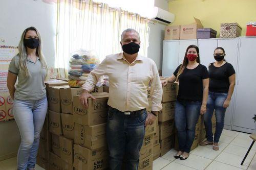 FAMÍLIAS SERÃO CONTEMPLADAS COM CESTAS BÁSICAS EM AÇÃO EMERGENCIAL