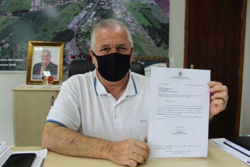 MUNICIPIO DE SÃO JORGE DO PATROCÍNIO É BENEFICIADO COM RECURSOS PARA AQUISIÇÃO DE UMA PÁ CARREGADEIRA