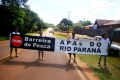 CORIPA REALIZA BARREIRAS DE CONSCIENTIZAÇÃO DURANTE A ABERTURA DA PESCA