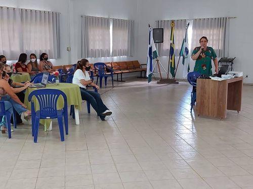 PROFESSORES DA REDE MUNICIPAL DE ENSINO REALIZAM FORMAÇÃO COM FOCO NAS TECNOLOGIAS