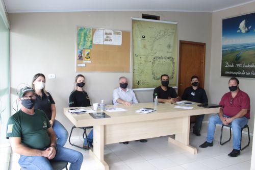 MUNICÍPIO DE SÃO JORGE DO PATROCÍNIO RECEBE VISITA DO DIRETOR EXECUTIVO DA MACUCO SAFARI.
