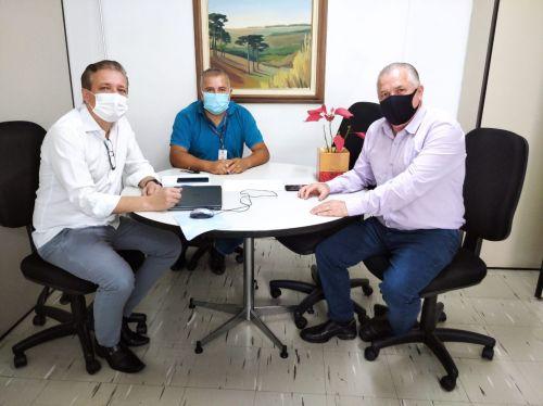 PREFEITO BARALDI VIAJA A CURITIBA EM BUSCA DE NOVOS RECURSO PARA O MUNICÍPIO.