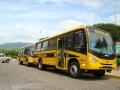 Educação receberá mais 3 ônibus novos para transporte de alunos.