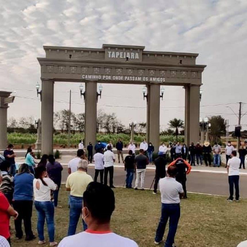 Inauguração do Portal Ecológico