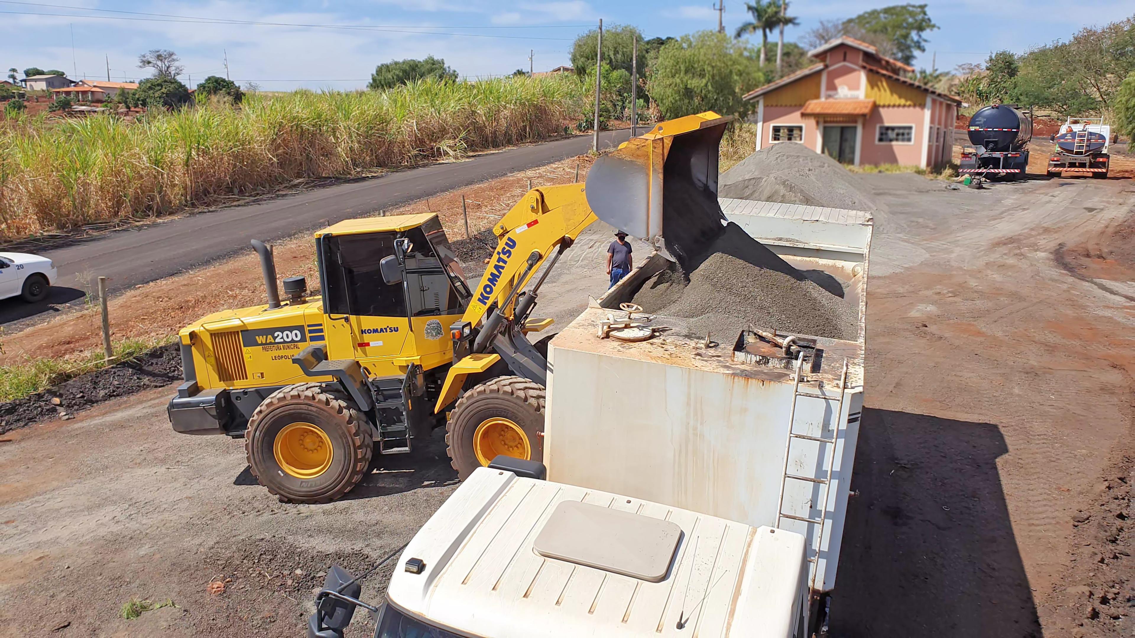 ATUALIZADO - Micropavimentação na Vila Rural Esperança