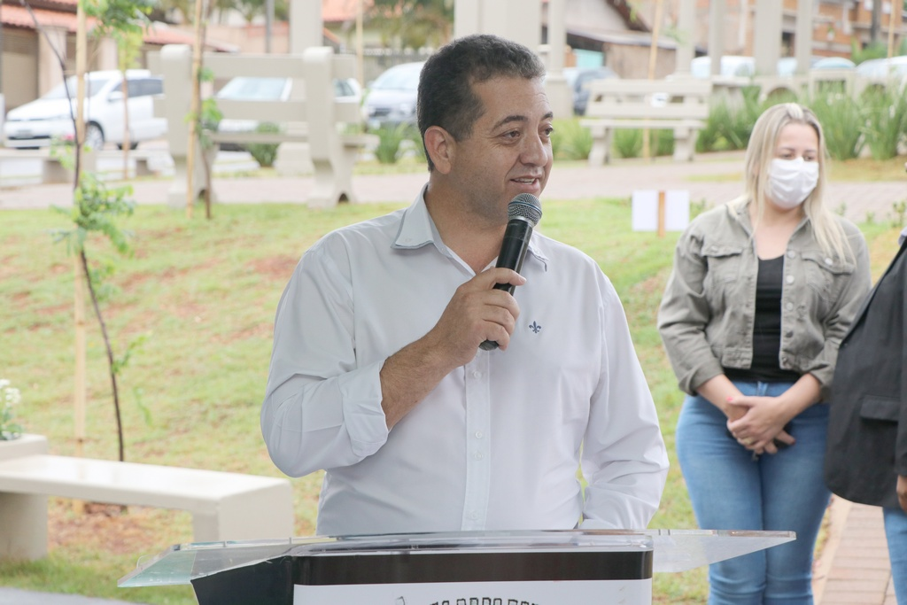 Inauguração da praça José Clóvis Trombini Bernardo