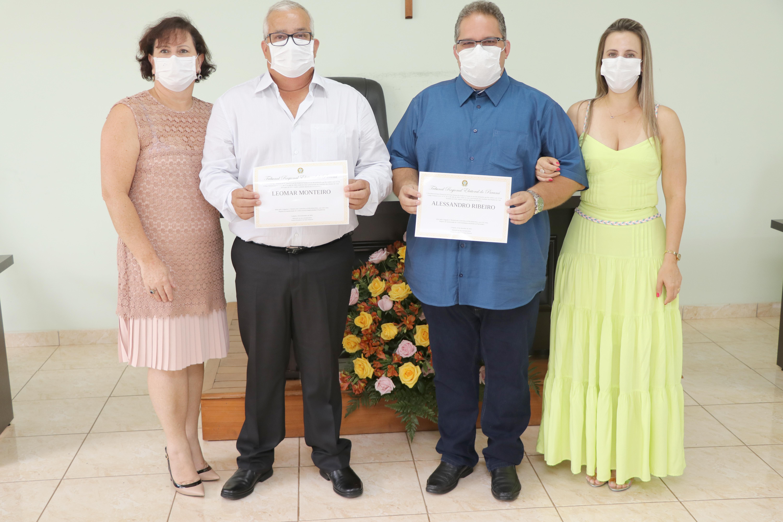 Prefeito e vereadores de Leópolis tomam posse 2021-2024