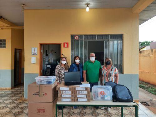 Escolas do município receberam kits educacionais de robótica