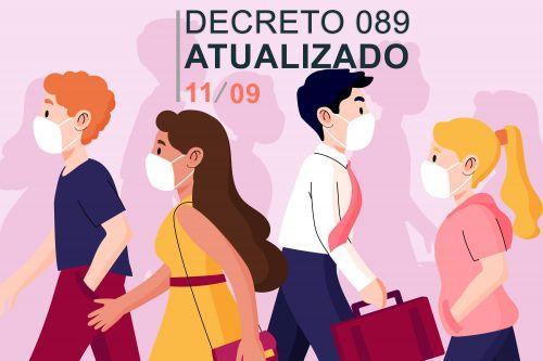 Decreto nº 089/2020 - Situação de Emergência