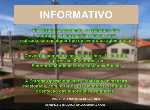 Entrega operacional e escalonada do Residencial Portal Paranapanema