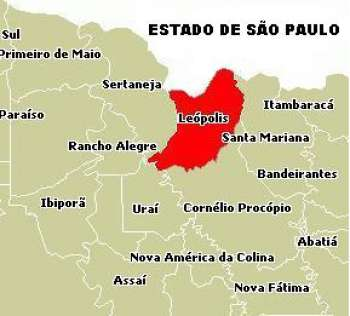 Figura 2. Mapa dos limites de Leópolis