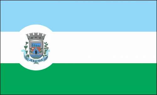 Bandeira do Municipio de Jesuítas