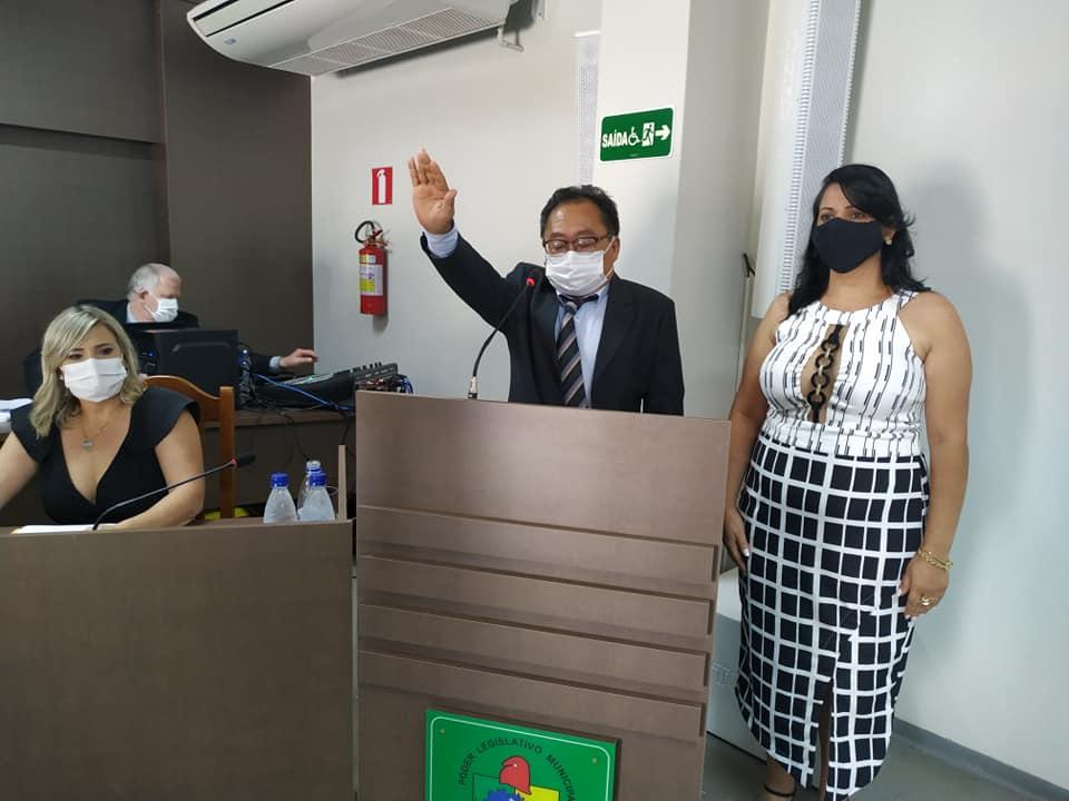 Dr. Culestino é empossado prefeito de Cafelândia