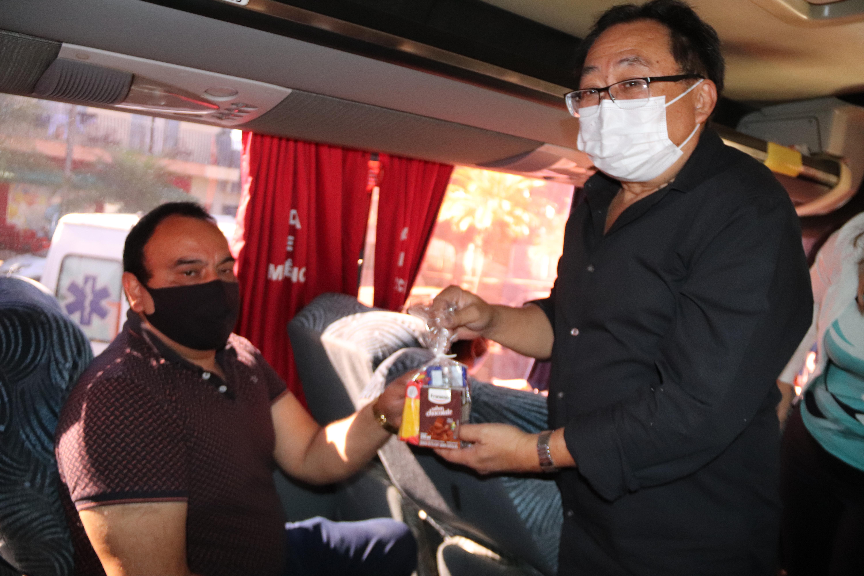 Cafelândia inicia distribuição de kit lanche para pacientes que utilizam do transporte municipal para tratamento de saúde em outros municípios