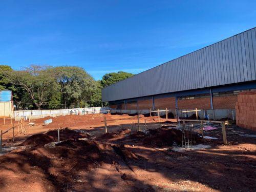 Cafelândia inicia construção de Centro de Convivência para atividades esportivas e culturais