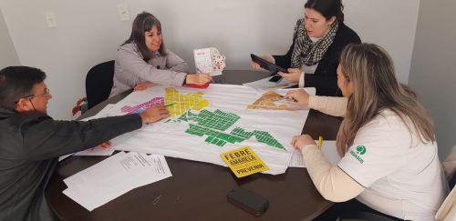 Reunião da saúde define cronograma do cadastramento das famílias do interior de Cafelândia