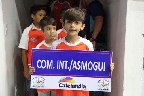 Cerca de 4 mil pessoas prestigiaram a abertura da 24ª Miniolimpíada de Cafelândia