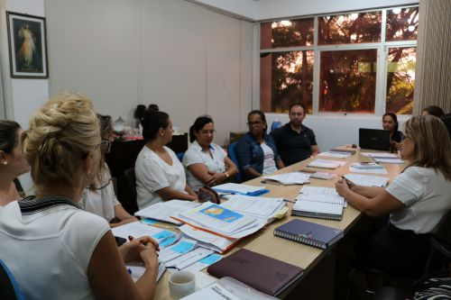 Diretores participam de reunião com a Secretaria de Educação e Cultura