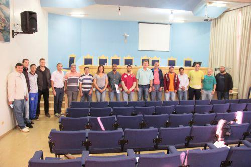 Secretaria de Esportes de Cafelândia reúne coordenadores das equipes da 23ª Miniolimpíada