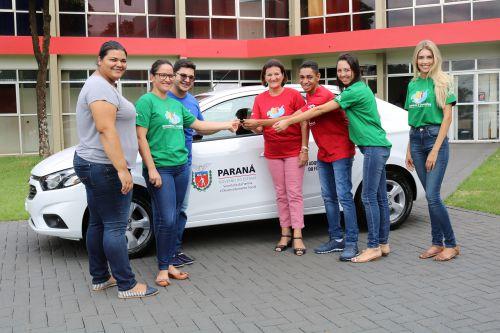Governo Municipal de Cafelândia entrega novo veículo ao Conselho Tutelar