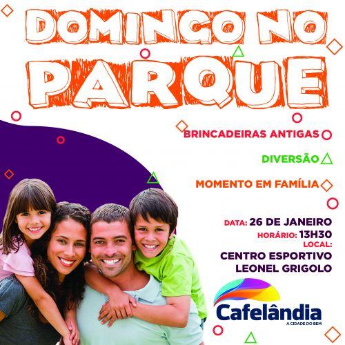 Governo de Cafelândia promove o 1º Domingo no Parque