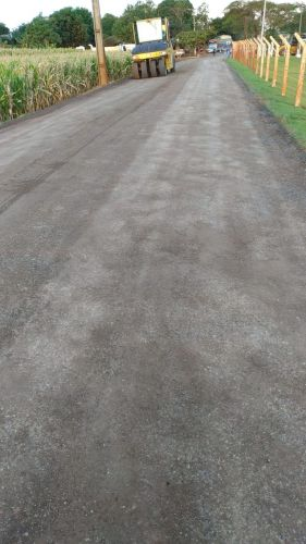Governo de Cafelândia retorna com os trabalhos de pavimentação em TST entre Central Sta Cruz e JS