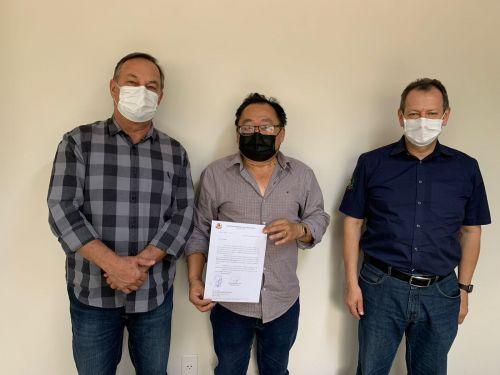 Prefeito Culestino protocola pedido de reabertura da Delegacia Civil junto à 20ª SDP
