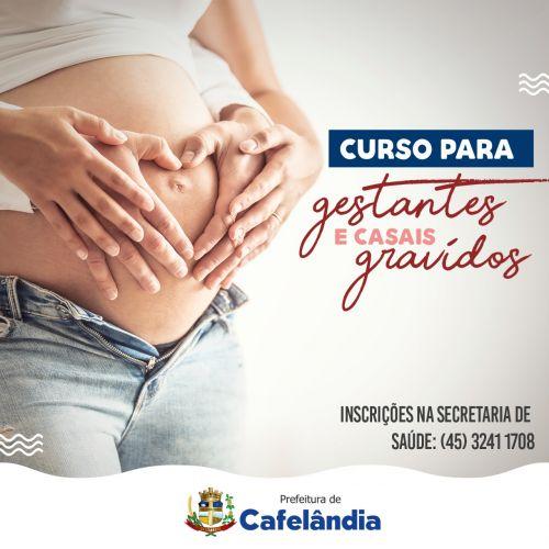 Saúde de Cafelândia realiza encontros para gestantes e casais grávidos para troca de informações