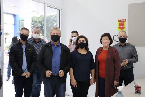 Governo de Cafelândia inaugura nova estrutura do CRAS