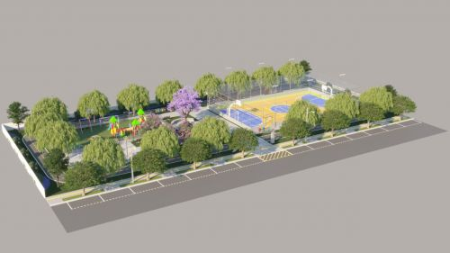 Governo de Cafelândia inicia a construção da Praça Pública do Parque São Paulo