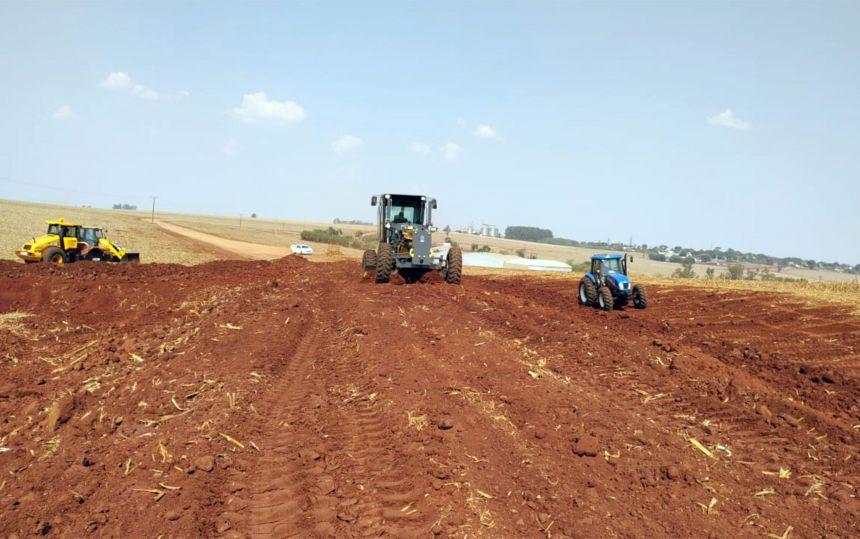 Equipamentos começaram a operar em Ubiratã; Estrada Porto Um passará por readequação e conservação