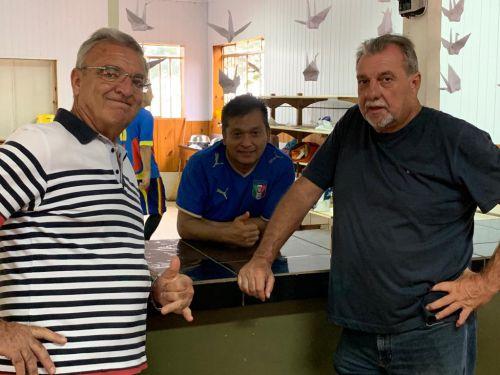 Servidores municipais comemoram Dia do Trabalho com um torneio de futebol