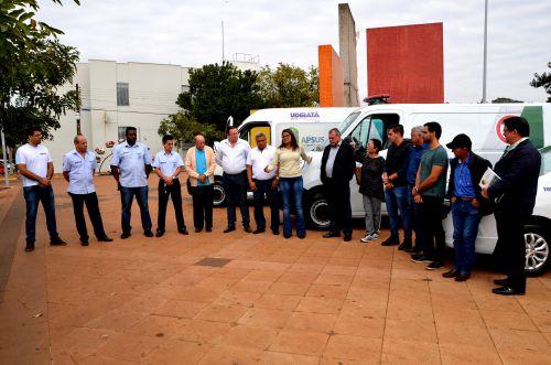 Saúde de Ubiratã ganha três novos veículos