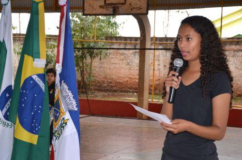 Yolanda recebeu comemorações alusivas à Independência do Brasil