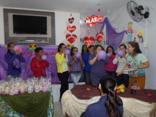 Homenagem às Mães no CMEI Dona Mariquinha