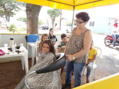 Ações desenvolvidas pela Secretaria de Assistência Social durante o Bairro Ativo Vila Esperança