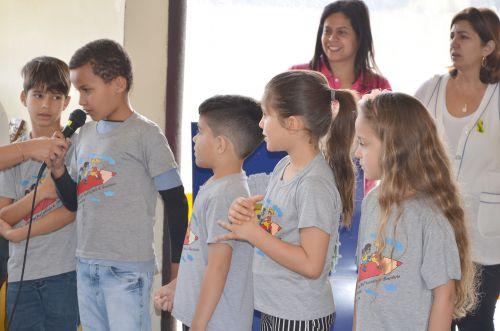 Semana da Pátria: apresentações nesta quarta-feira aconteceram na Escola Lucinéia Braciforte