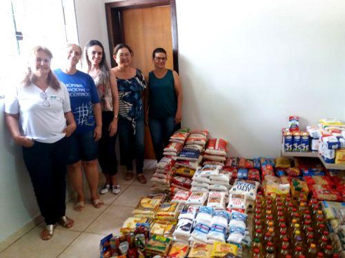 Alimentos arrecadados no show de Fernando e Sorocaba são repassados para Santa Casa e Lar dos Velhinhos