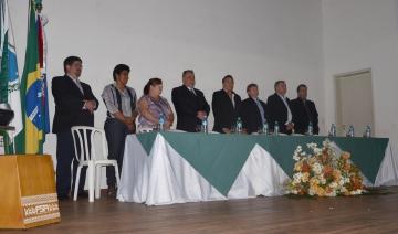 A abertura oficial do evento contou com a participa��o de diversas lideran�as