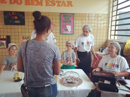 Escola Municipal Lucinéia Ricardo Braciforte realiza feira do JEPP
