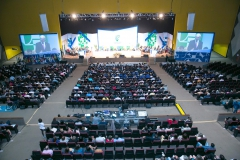 Foi realizado do dia 6 a 8 de agosto, em Bras&iacu