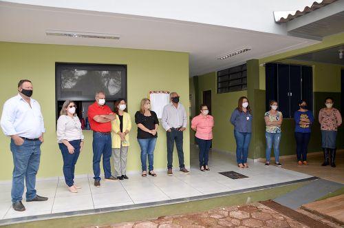 Ampliação e reforma na Escola Municipal do Campo Porto dos Santos foi concluída
