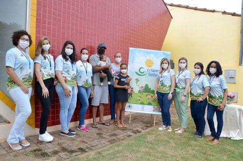 Famílias de Ubiratã e Yolanda são beneficiadas com o Programa Criança Feliz