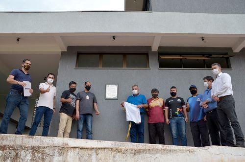 Entrega oficial das melhorias no Estádio Municipal Claudinão