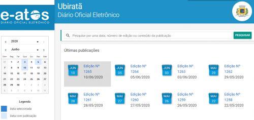 Jornal Oficial Eletrônico do Município completa 9 anos de sua primeira edição
