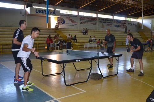 Torneio de Tênis de Mesa Amador movimentou Ubiratã neste fim de semana