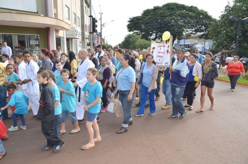 Ubiratanenses participam de Movimento contra a Exploração Sexual de Crianças e Adolescentes