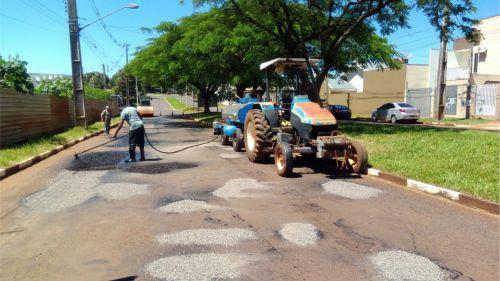 Operação Tapa Buracos inicia pela Avenida João Medeiros