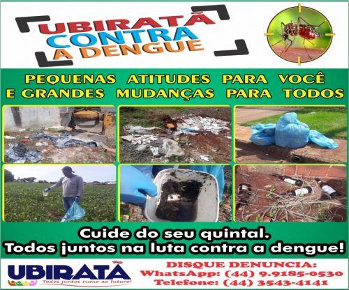 Secretaria de Saúde esclarece informação sobre morte causada por dengue em Ubiratã
